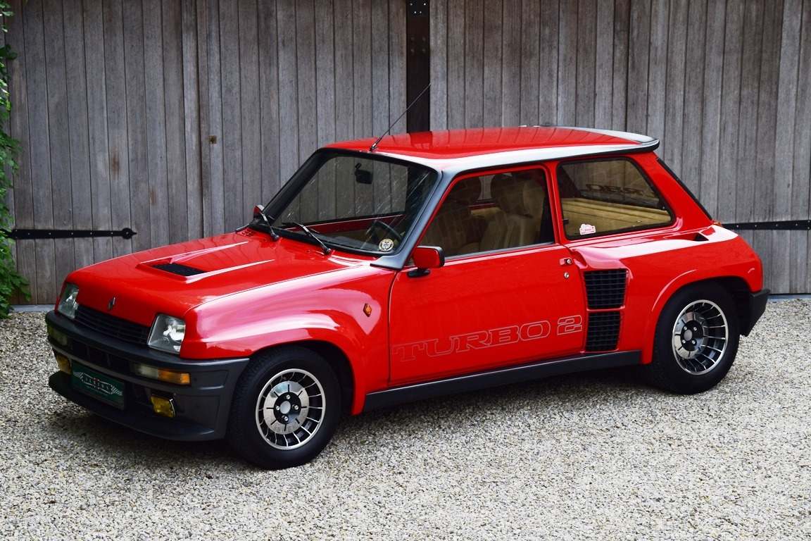 renault 5 turbo clasicos y deportivos portal automovil. Black Bedroom Furniture Sets. Home Design Ideas